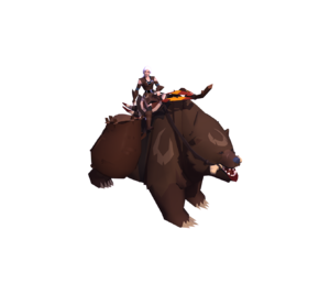 Grizzly Bear Mount